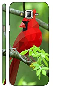 Aatank Premium Printed Mobile Case Back Cover for Samsung Galaxy J3
