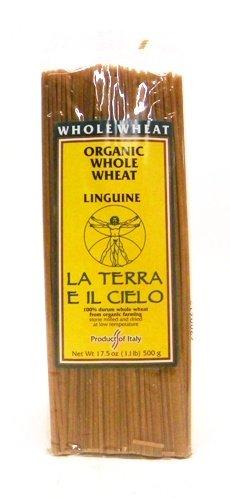 La Terra E Il Cielo Organic Whole Wheat Linguine Pasta 1.1 lb