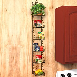 6 Tier Kitchen Wall Rack