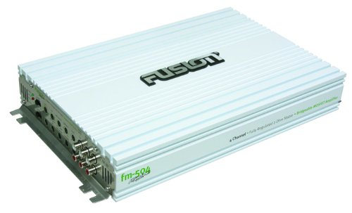 Fusion FM-504 4-Channel 500-Watt Marine Amplifier