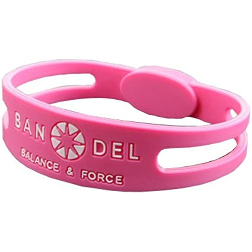 BANDEL 반델 팔찌 반델 목걸이 BRACELET팔찌 슬림 타입 핑크S 16cm
