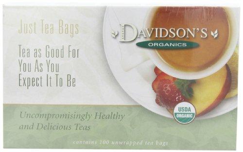 Davidson'S Tea Green Tea Garden, 100-Count Tea Bags