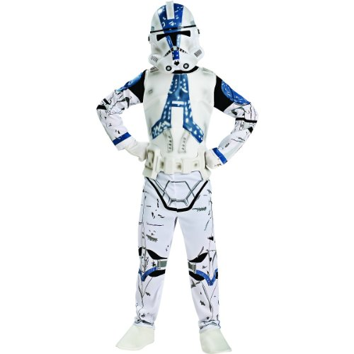 Star Wars Clone Trooper 3-D Action Suit Set, Size 4 to 6