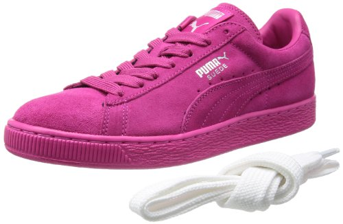 hot pink puma suede