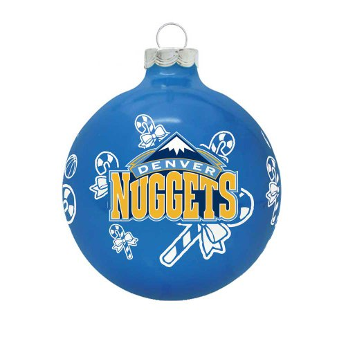 NBA Denver Nuggets Traditional 2 5/8″ Ornament