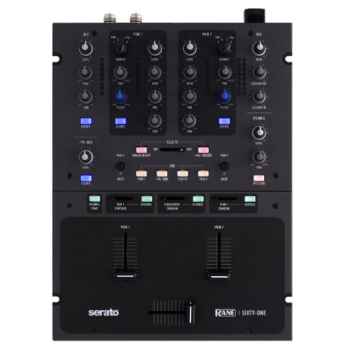 Rane Sixty-One Serato Scratch Live 2-Channel DJ Mixer