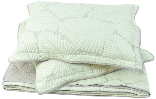 Sleeping Partners Leaf Quilt/Sham Set, King