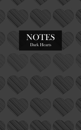 Dark Hearts Gothic Lined Notebook