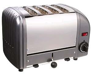 Dualit 4 Slice Toaster Metallic Charcoal 40348