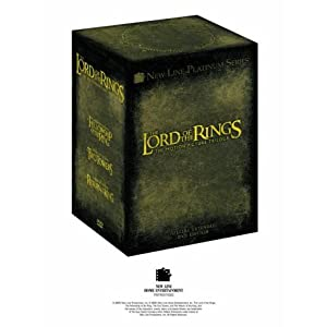 The Lord of the Rings Trilogy (Extended Edition Box Set) [DVD]