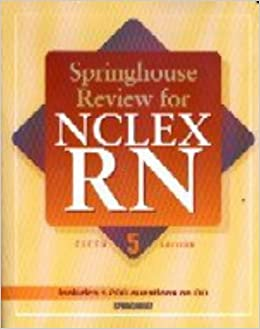 Springhouse Review for NCLEX-RN (Book with CD-ROM): 9781582551319: Medicine & Health Science