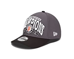 MLB San Francisco Giants World Series Champions Locker Room 39Thirty Cap, Gray/Black, Small/Medium