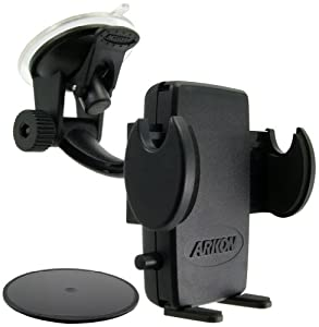 Arkon Mount Bundle for Most Smartphones - Retail Packaging - Black