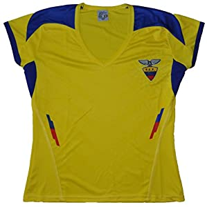 Buy Ecuador 2014 Women Jersey Adult Size Small And Medium by PerUsasports