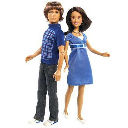 Picture of Mattel High School Musical 2 Dolls Together at Last Gift Set Figure (B00170A4OO) (Mattel Action Figures)