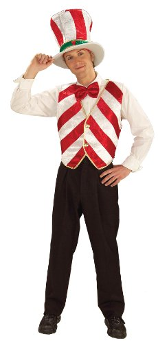 Forum Novelties Men's Mr. Peppermint Holiday Costume