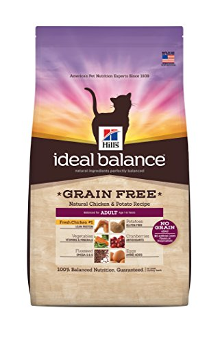 Hill's Ideal Balance Grain Free Natural Chicken & Potato Recipe Adult