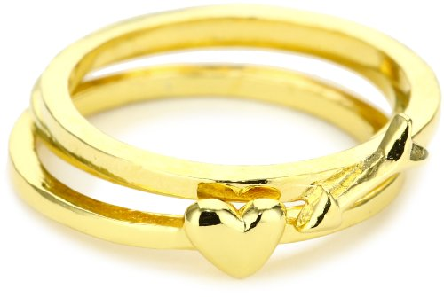 gorjana Eros Gold Ring Set, Size 6