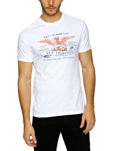 Levi's Standard Graphic Printed Men's T-Shirt Bright White Medium