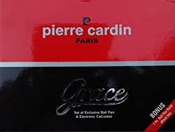 Pierre Cardin Grace Set of Ball Pen & Calculator