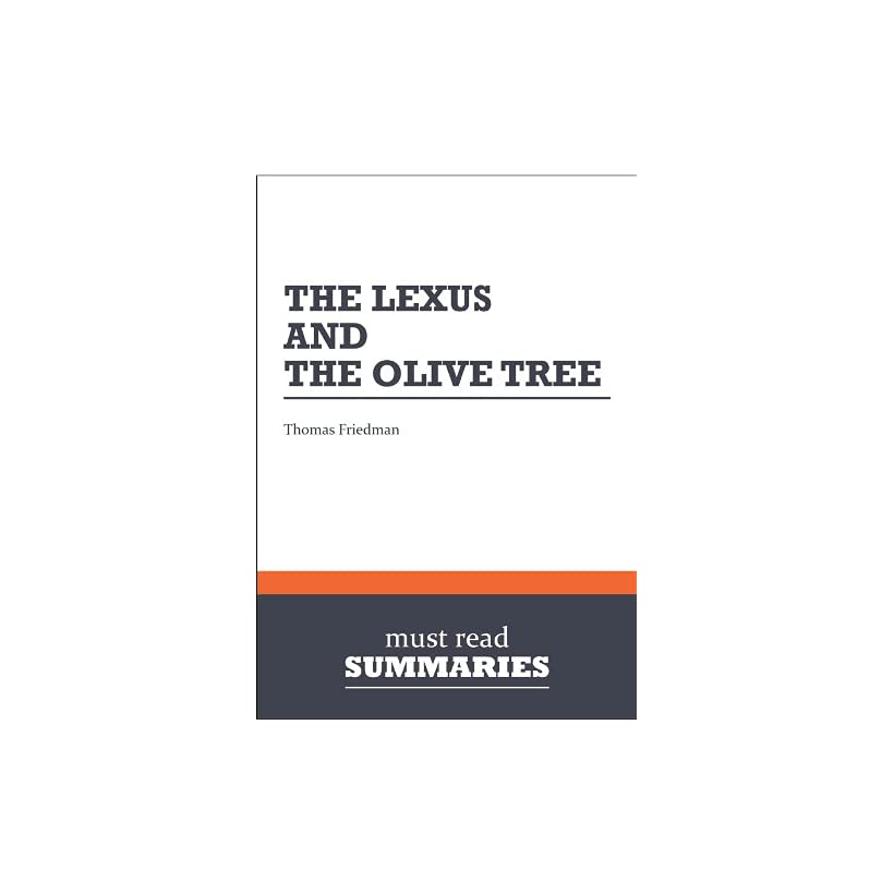 The Lexus And The Olive Tree Ebook