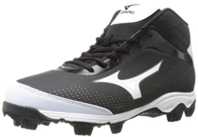 Buy Mizuno Mens 9-Spike Franchise 7 Mid Baseball Cleat by Mizuno