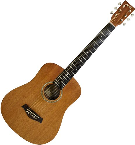 S.Yairi jail Compact Acoustic Series miniacoustic guitar YM-02/MH mahogany soft carrying case included