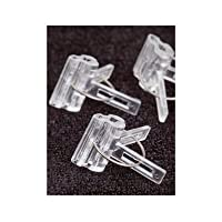 Tomato Grafting Clip Spring Loaded D9031 (Clear) 1.5 mm x 4.0 mm 24 per Order by David's Garden Seeds