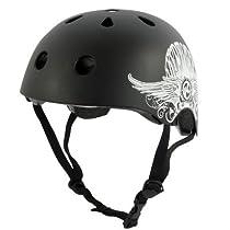 Kryptonics Step Up Helmet, Medium/Large, Black
