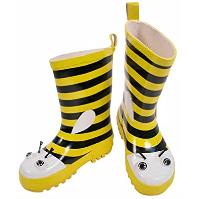 Kidorable Bee Rain Boots