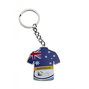 RWC 2015 australia rugby metal rugby shirt keyring from Rugby World Cup 2015