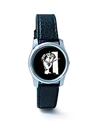 BigOwl The Composed Reality Painting Women's Analog Wrist Watch 2115074536-RS2-S-BLK
