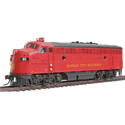 Walthers PROTO 2000 HO Scale Diesel EMD F7A Powered - Standard DC - Kansas City Southern #73D