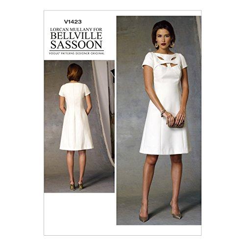 vogue-patterns-1423-a5-sizes-6-8-10-12-14-misses-dress-multi-colour