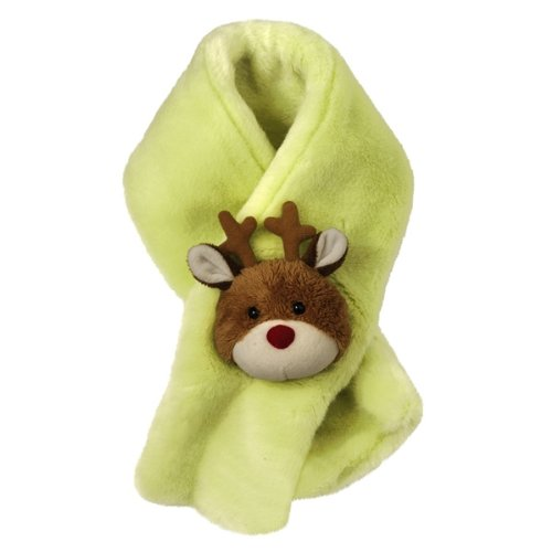 Grasslands Road Children's Plush Rudolph Scarf