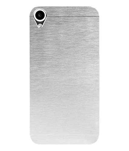 Mercator Motomo Back Cover for HTC Desire 626 G Plus (Silver)