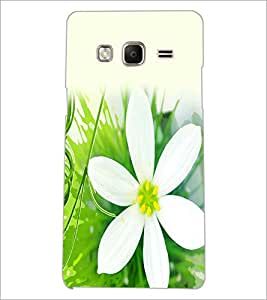 PrintDhaba Flower D-2435 Back Case Cover for SAMSUNG Z3 (Multi-Coloured)