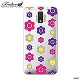 【HTC J ISW13HT ケース】 iFeather Designer's Case デザイナーズ ケース 【Pearl Flower - Pop】 for KDDI au HTC J ISW13HT 保護カバー +《レビュー書いて特典付き》