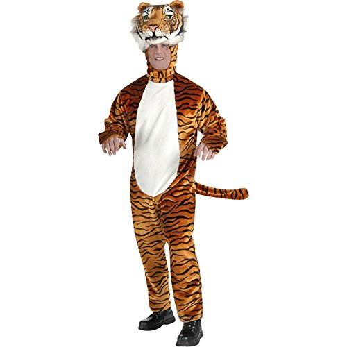 Adult's Deluxe Tiger Mascot Costume (Size: Standard 42)