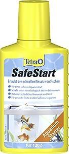 Tetra 160897 SafeStart, Aquarienstarter mit lebenden nitrifizierenden Bakterien für einen sicheren Aquarienstart,  100 ml