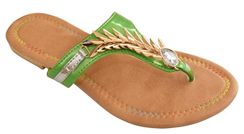 Peach Couture SANDRA Dragon Embellished Open Back Summer Sandal bols peach 700ml