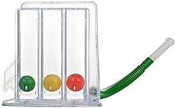 Life Line Three Balls Spirometer- Multi Color