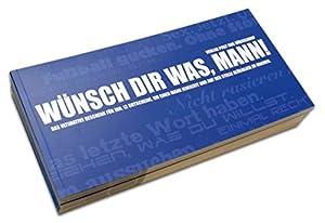 Gutscheinbuch für Männer: WÜNSCH DIR WAS!