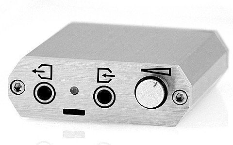 Meier Audio Corda Pcstep Usb-Dac Portable Headphone Amplifier Silver