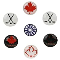 miButton Home Button Sticker for iPod, iPhone, & iPad - Canada Hockey