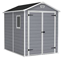 Hot Sale KETER Manor Outdoor Storage Shed, 6 by 8-Inch