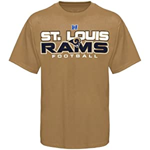 NFL St. Louis Rams All Time Great IV T-Shirt - Gold from Nutmeg