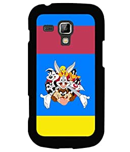 printtech Funny Designer Duck Back Case Cover for Samsung Galaxy S Duos S7562