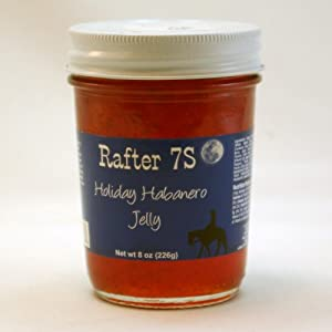 Rafter 7S Gluten Free Holiday Habanero 8 oz Jelly from Rafter 7S