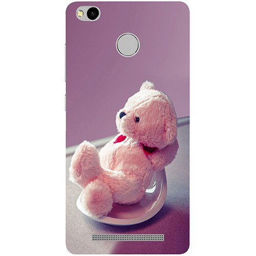 hot sale online eaaea 111b5 Casotec Cute Teddy Bear Design 3D Printed Hard Back Case Cover for Xiaomi  Redmi 3S Prime